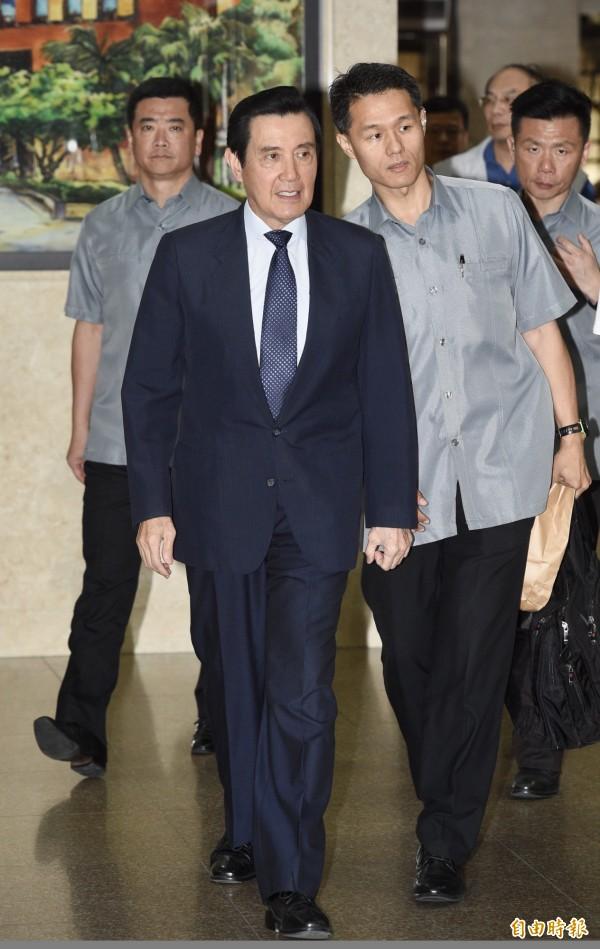 前總統馬英九被訴洩密等案,一審無罪,高等法院今轉改判他4月徒刑,受惠大法官釋字752號解釋,因此獲准得上訴三審力拼翻盤機會。(資料照)