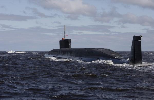 理察森指出,俄羅斯潛艦在北大西洋內活動頻繁,比過去25年都還多。圖為俄國潛艦。(美聯社)