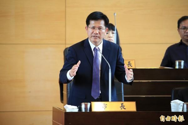 台中市長林佳龍。(資料照,記者張菁雅攝)