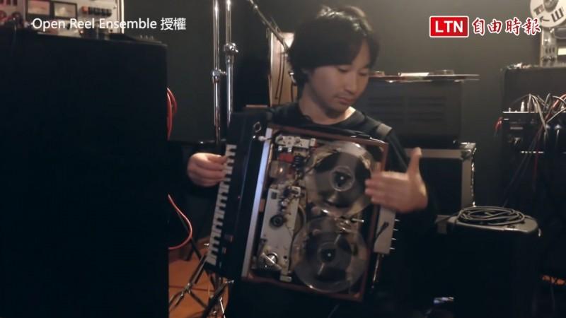 Open Reel Ensemble把盤式錄音機改造成樂器。(圖片由Open Reel Ensemble授權)