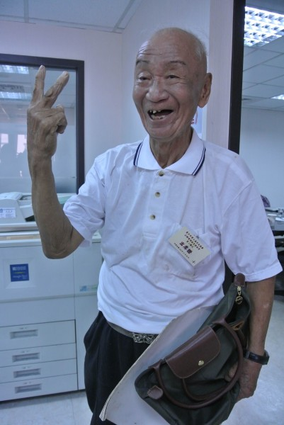 趙衍慶開心說,「我以為我零票,我有美麗的回憶了」。(資料照,記者邱紹雯攝)