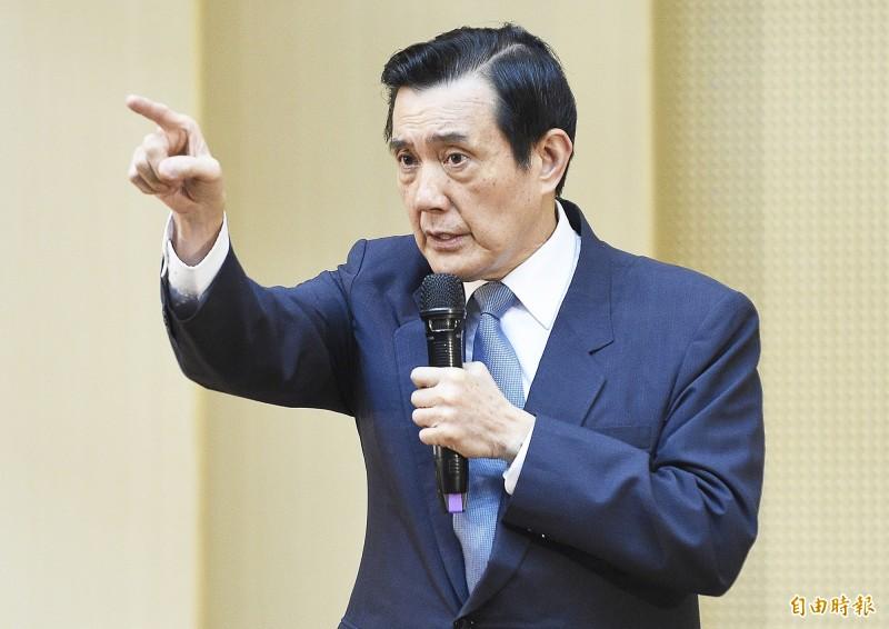 前總統馬英九今天上午表示,他昨天和鴻海集團董事長郭台銘通過電話,稱郭台銘不投資邦交國是誤會。(資料照)