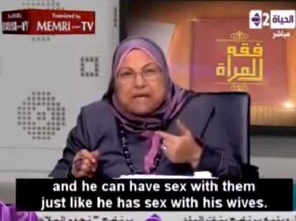 一位埃及知名大學的伊斯蘭教授竟宣稱,真主阿拉允許穆斯林男子強暴非穆斯林女子。(圖擷自YouTube/FreedomPost.org)