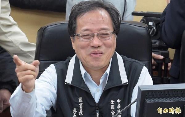 全國公務員協會理事長李來希。(資料照)