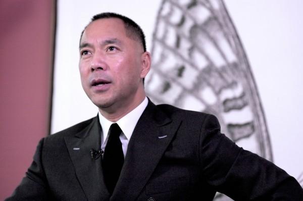 郭文貴對蔡英文堅拒「一國兩制」表示讚賞,呼籲蔡總統應堅持到底,「美國將徹底改變對台政策」。(圖擷取自郭媒體網站)