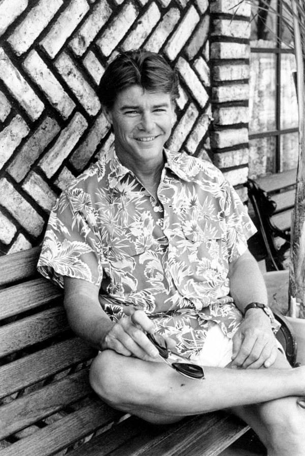 1980年代詹麥可文生在電視影集《飛狼》中飾演「霍克」一角大放異彩,在全球各地名聲大噪,也成為台灣五六年級生的共同回憶。(美聯社資料照)