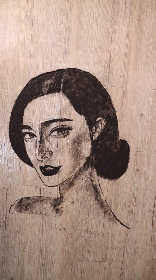 中國藝人范冰冰肖像。(圖獲作者授權)