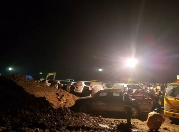雲南威信縣一處正在興建中的高速公路,其隧道發生氣爆,造成7死2傷。(圖擷自威信縣人民政府官網)