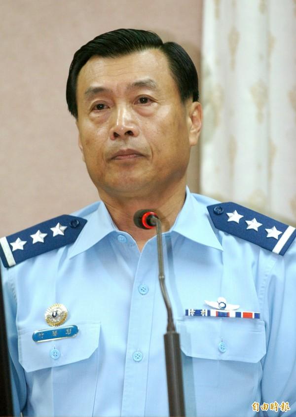國安局長一職將由前空軍司令彭勝竹上將出任。(資料照,記者王敏為攝)