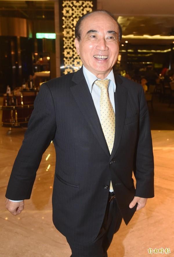 國民黨立委、立法院前院長王金平。(資料照,記者廖振輝攝)