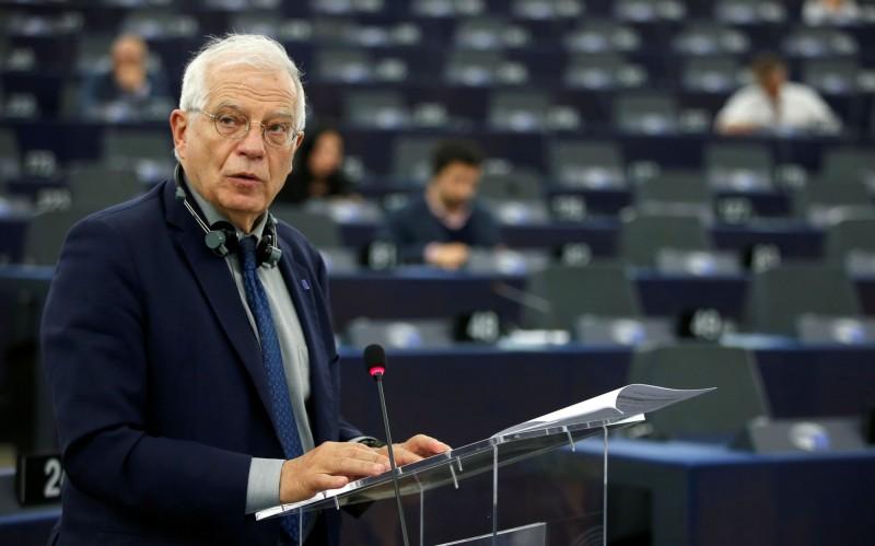 歐盟執委會副主席波瑞爾(Josep Borrell)今(16)日呼籲,歐盟應該要「硬起來」干預國際危機,否則外交政策將持續面臨癱瘓的風險。(路透)