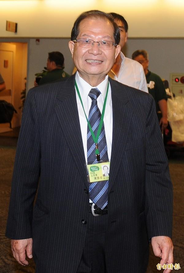 陳勝宏。(資料照,記者廖振輝攝)