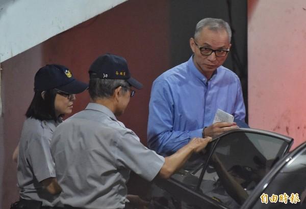 台北地院今諭令國寶集團總裁朱國榮先還押看守所,本月8日前將裁定是否延押。(資料照,記者劉信德攝)