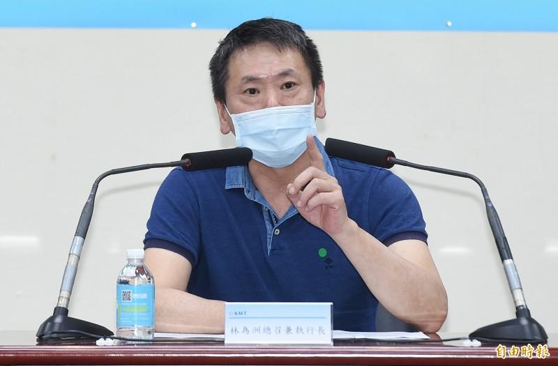 立院國民黨團總召林為洲表示,即使被罷免掉,市長還是市長,國民黨團會跟韓市府一起努力做到最後一天。(資料照)