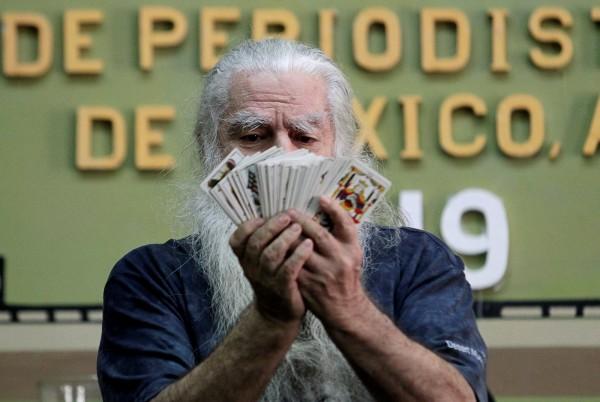 昨日墨西哥知名預言家瓦奎茲(見圖)開示,川普不可能在今年拿到美墨邊境圍牆資金。(路透)
