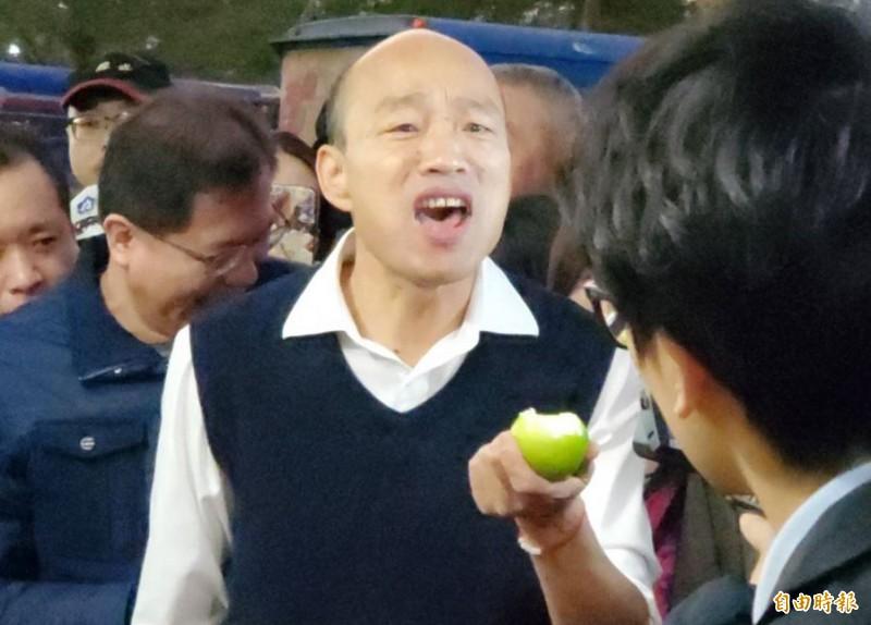高雄市長韓國瑜(見圖)在總統大選慘敗後,宣布返回高雄專心市政,但罷韓聲浪仍未止息。(資料照)