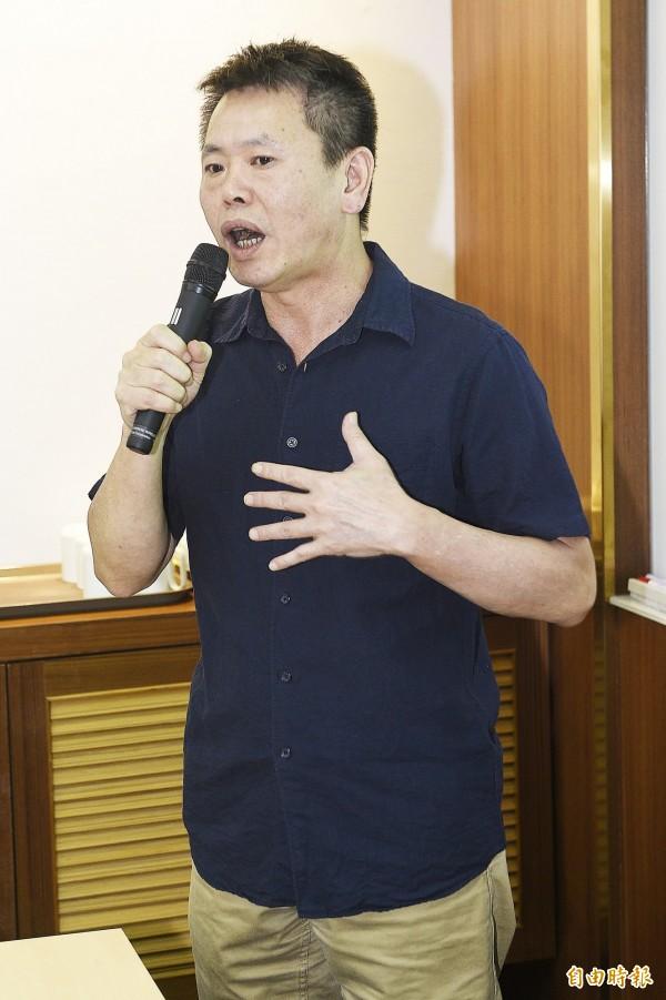 互別苗頭? 國民黨在竹縣開中常會、林為洲公布領先民調。(記者陳志曲攝)