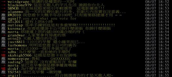網友依據影片內容,批評為權貴的一天。(圖片擷取自PTT)
