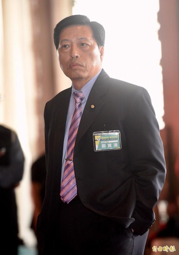 綠委鄭寶清暗指柯文哲已經不是一個可以共同合作的人選,希望黨內自提台北市長候選人。(記者羅沛德攝)