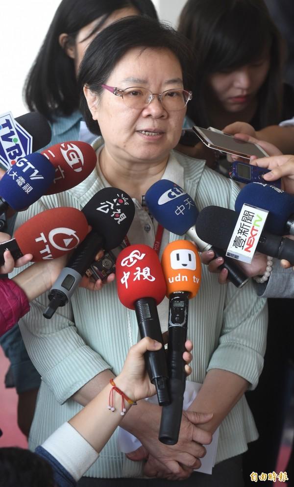 針對傷患所需的醫材,食藥署署長姜郁美今表示供應無虞。(資料照,記者劉信德攝)