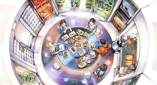 日本發表2020「月球餐」菜單。(擷取自Space Food X網站)