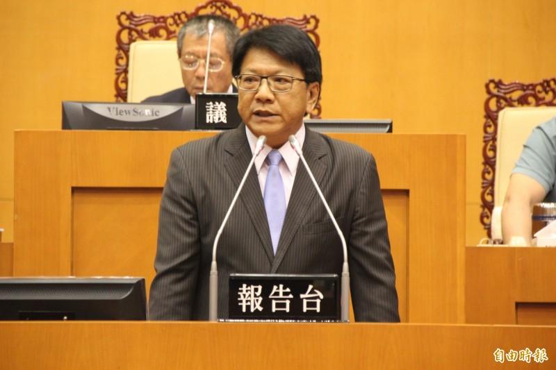 屏東縣長潘孟安在任內的治水工程,引來正反兩方的討論。(資料照)