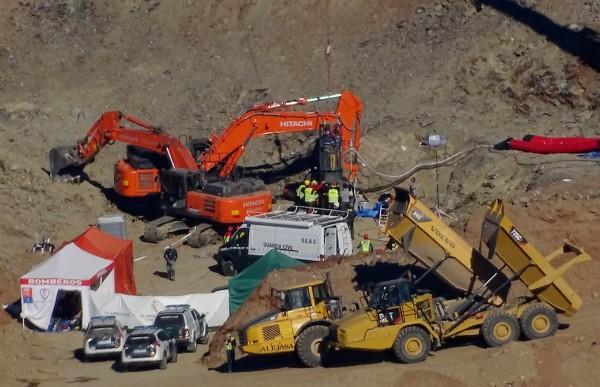 西班牙2歲男童羅塞洛(Julen Rosello)掉進110公尺深的礦井,當局搜救13天後,今(26日)尋獲羅塞洛冰冷的遺體。(路透)