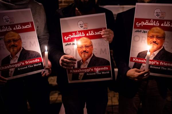 英國媒體報導,《華盛頓郵報》特約記者哈紹吉遭謀殺後,沙國派出毒物和化學專家處理,負責清除相關證據。(法新社資料照)