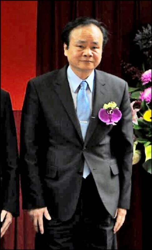 中華郵政總經理陳憲着(圖)因物流園區招標案遭撤換。(資料照)