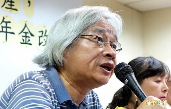 時代力量成員馮光遠,今晚八點透過網路直播,宣布退黨。(資料照,記者朱沛雄攝)