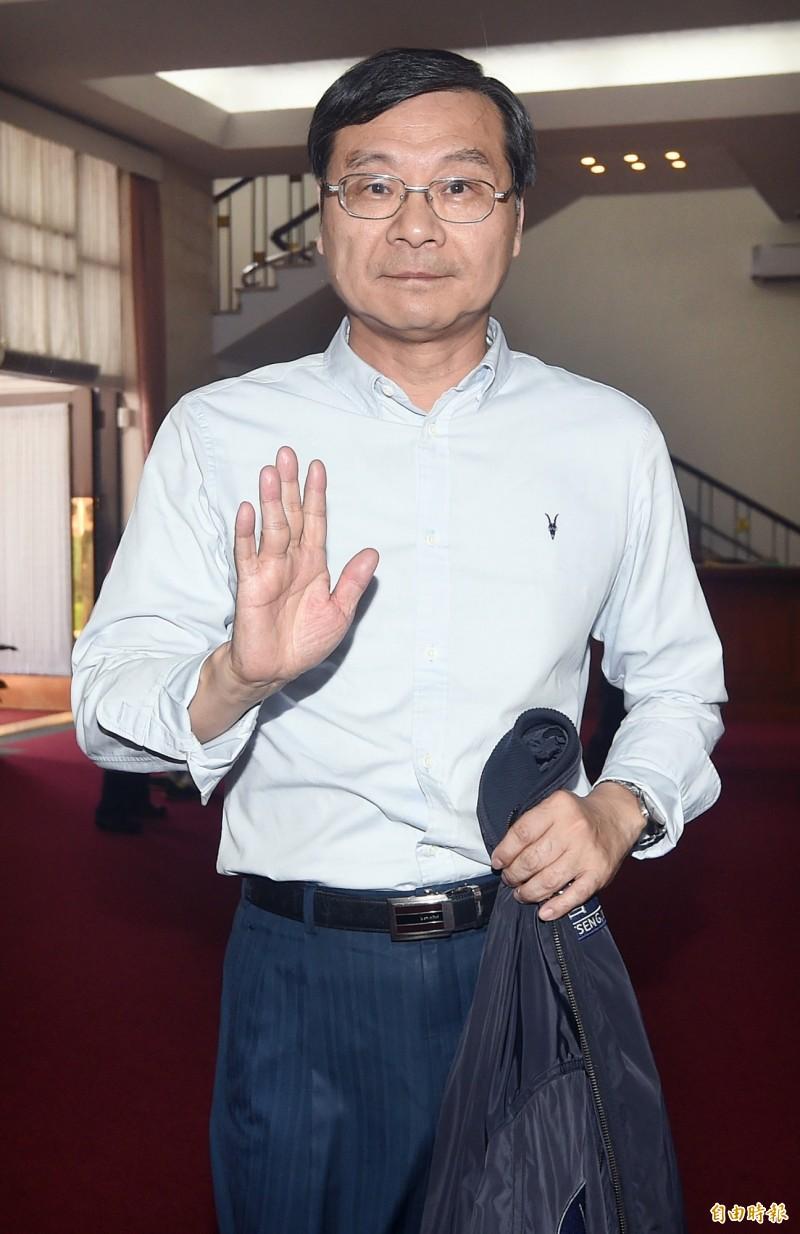 立法院國民黨團總召曾銘宗指出,這次國民黨總統初選過程,堪稱台灣政黨史上最公開透明、公平公正的典範。(資料照)