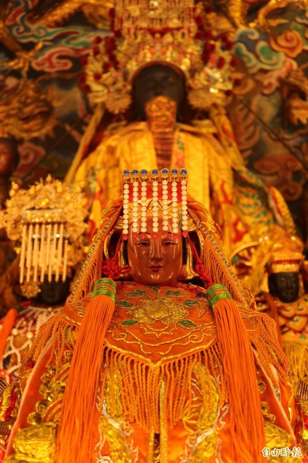 兩百多年來第一次,白沙屯媽到斗六。(記者詹士弘攝)