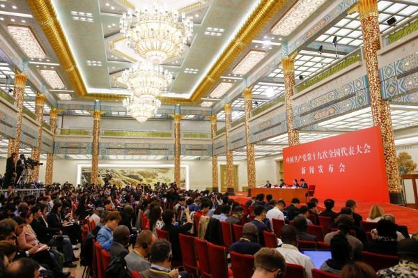 中共19大因將選出未來5年的中國新一屆領導層成員,備受國際關注。(路透)