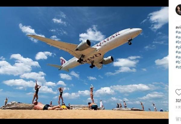 普吉國際機場主管單位決定在邁考海灘設立一個禁止區,以維護飛行安全。(圖擷取自IG)