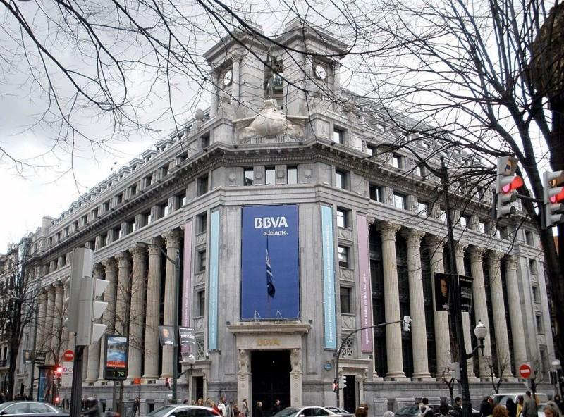 懷疑洗錢,西班牙BBVA銀行傳大規模凍結中國僑民帳戶。(圖擷取自網路維基百科)