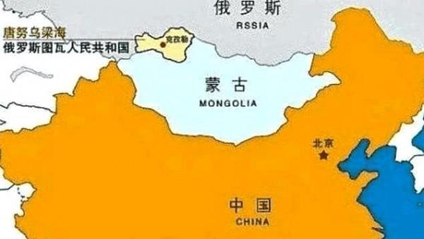 中國退伍軍人、獨立研究人員殷敏鴻先後向中國外交部提告2次,控訴中國政府刻意隱瞞領土唐努烏梁海遭俄羅斯占領的消息。(圖擷取自推特)