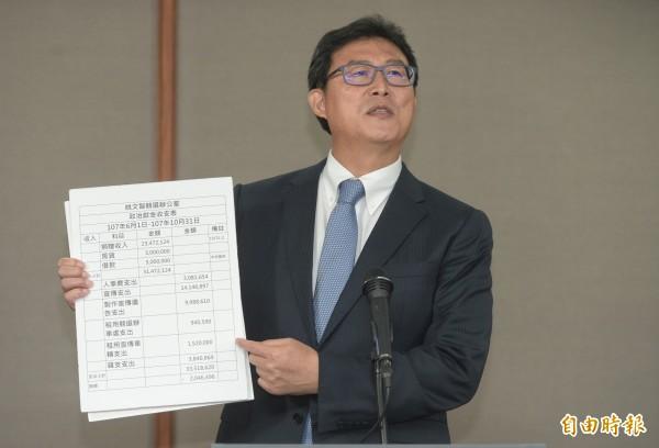 民進黨台北市長候選人姚文智。(資料照)