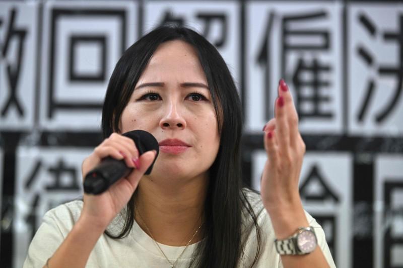 職工盟今日召開記者會,交代施安娜(圖)被解雇詳情,並向國泰提出2大訴求。(法新社)