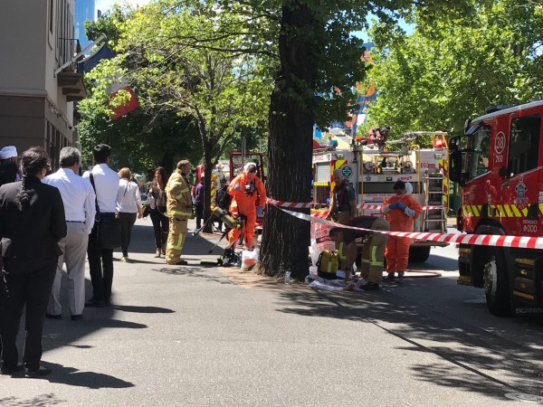 多國駐澳洲墨爾本使館驚傳收到可疑包裹。(美聯社)