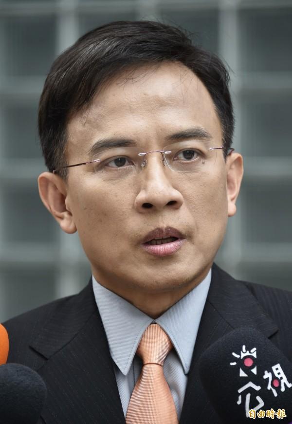 知名主持人彭文正認為,國民黨主席朱立倫可說是「馬習會」中的受害者。(資料照,記者陳奕全攝)