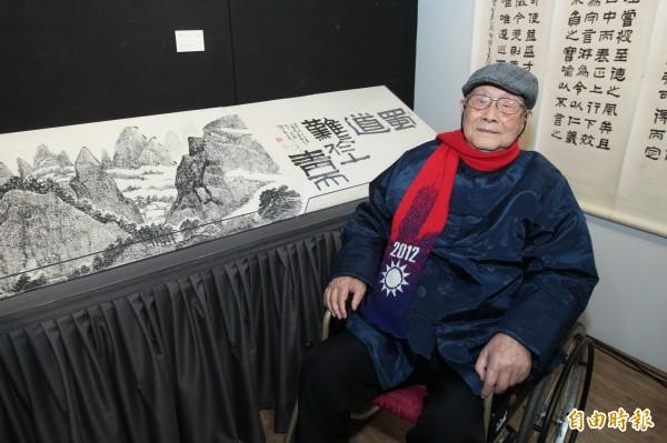 張光賓19日於台北辭世,享壽102歲。(資料照,記者胡舜翔攝)