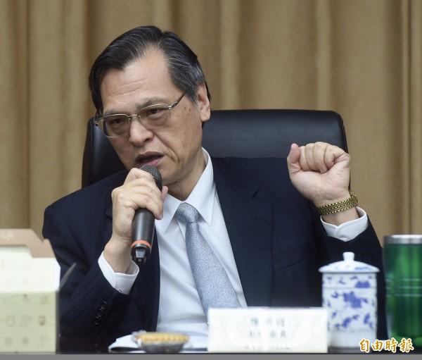 行政院大陸委員會配合組織調整規劃,去除全名中的「行政院」,更名「大陸委員會」,今正式掛牌,陸委會主委陳明通表示,將繼續為台灣各行各業安居樂業、兩岸和平穩定打拚。(資料照)
