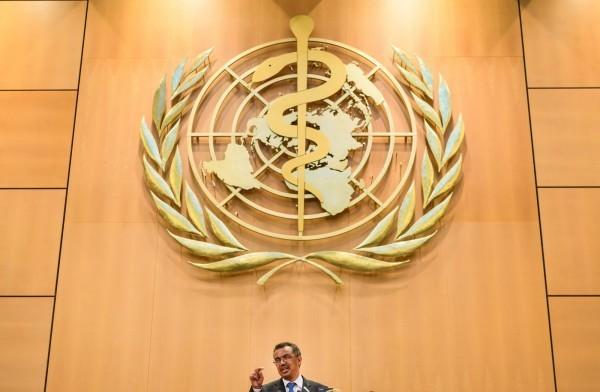 總統蔡英文喊話,世界衛生組織(WHO)應讓台灣一同參與。(法新社)