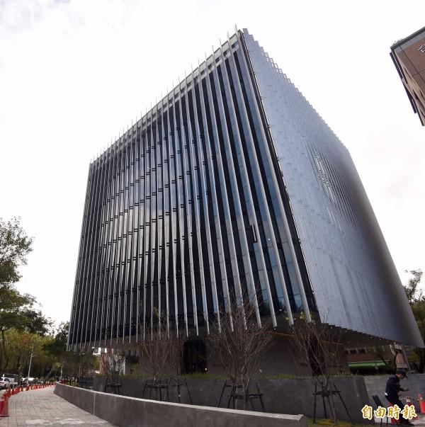 台灣大學次震宇宙館27日落成啟用。(記者羅沛德攝)