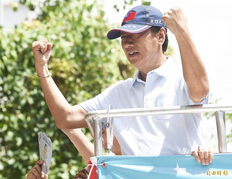 郭台銘透過競選辦公室發出聲明,祝福恭喜韓市長,並表達對中華民國奉獻的決心。(資料照)