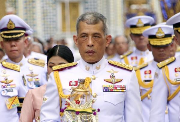 泰國王室元旦宣布,新泰王瓦吉拉隆功的加冕儀式將於5月4日至6日舉行,一連3天。(美聯社)