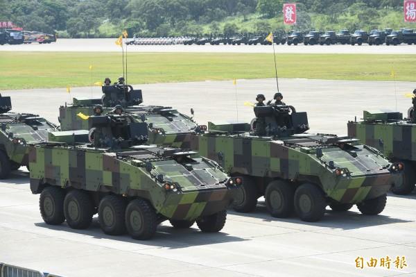 國軍雲豹甲車爆發採購弊案。(資料照 記者張嘉明攝)