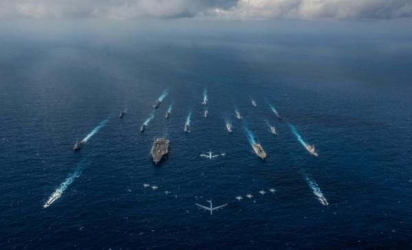 日高義樹指出,美軍制定的「海軍2025計畫」,中國的戰略行動根本無法與之抗衡。(路透)