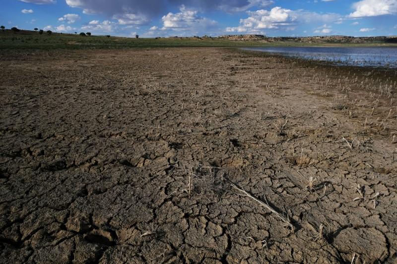 有17個國家面臨水資源極度短缺,人口約佔全球1/4,缺水嚴重程度幾乎已達乾涸的「歸零日」。(法新社)