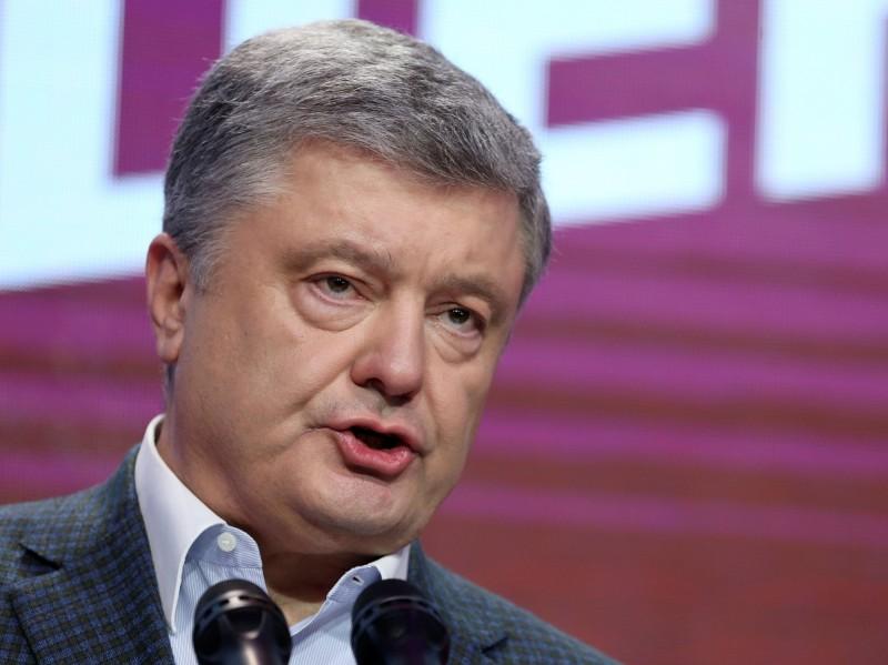 烏克蘭總統大選4月21日將舉行第2輪投票,現任總統波洛申科(Petro Poroshenko)將對決政治素人澤倫斯基,爭取連任。(路透)